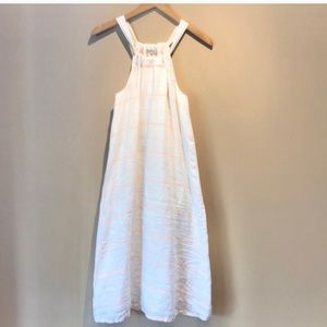 Madewell Broadway & Broome Linen Midi Dress